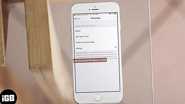 Sijaintipalvelut ovat aina päällä iPhonessa? Tässä on Korjaus