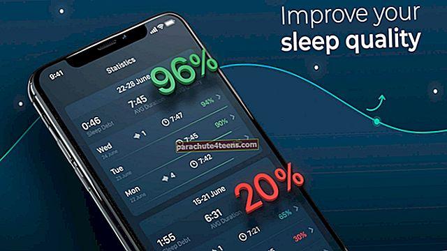 Parhaat unen seurannan iPhone-sovellukset vuonna 2021