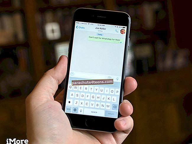 Lisage iPhone'is rakenduses WhatsApp fotodele / videotele emotikone ja teksti