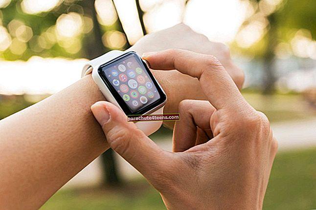 Rakenduste sulgemine Apple Watchis