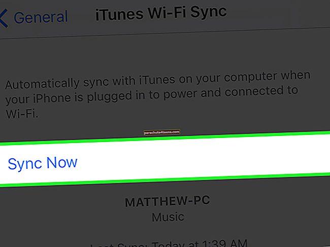 Kuinka synkronoida iPhone iTunesin kanssa langattomasti Wi-Fi-yhteydellä