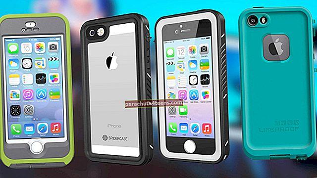 Parhaat vedenpitävät kotelot iPhone SE: lle, 5s: lle ja iPhone 5: lle vuonna 2021