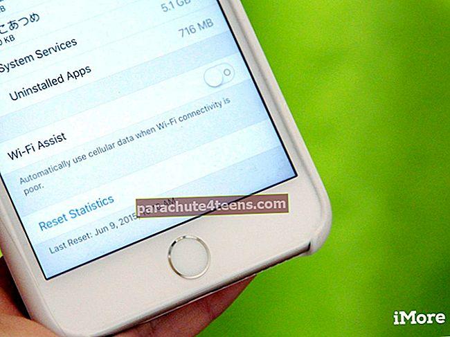 Wi-Fi abi sisselülitamine iPhone'is ja iPadis