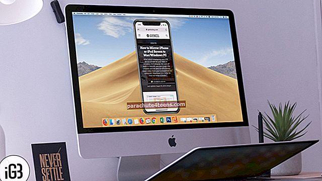 Kuinka peilata iPhone- tai iPad-näyttö Maciin ja Windows-tietokoneeseen