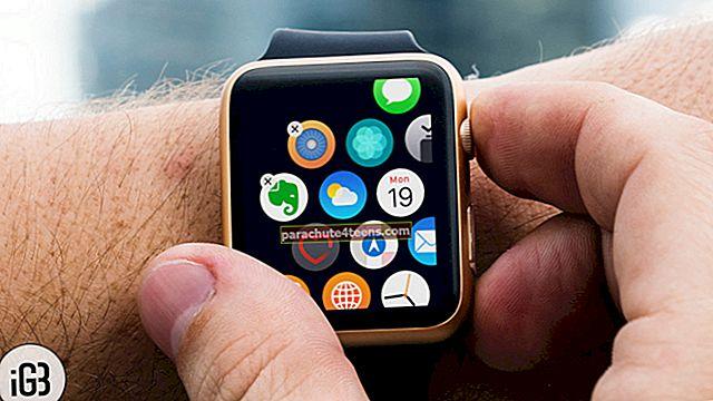 Sovellusten poistaminen tai piilottaminen Apple Watchissa