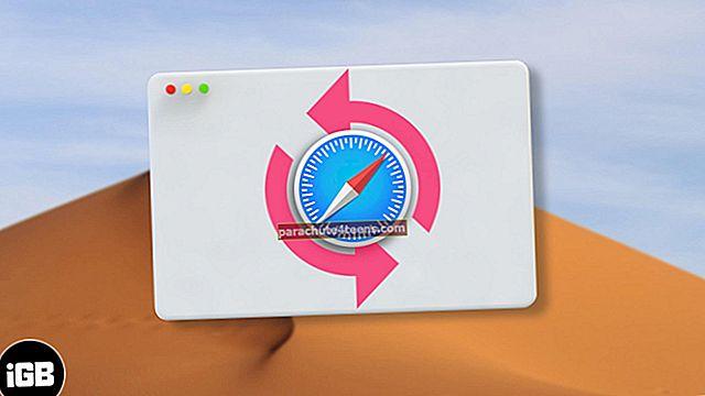 Kuinka palauttaa poistetut Safari-kirjanmerkit Macissa