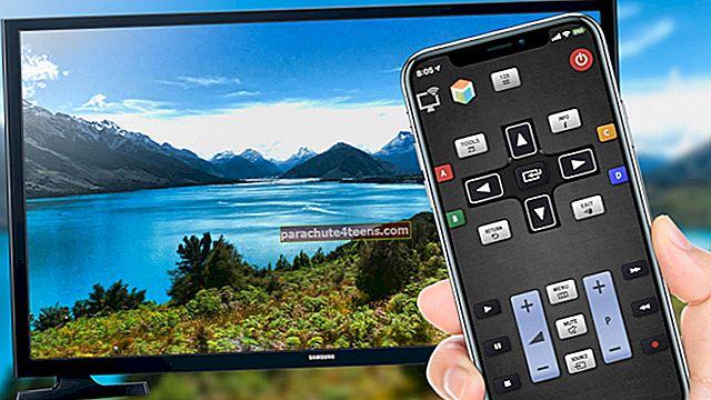 Käännä iPhone älypuhelimesi kaukosäätimeen