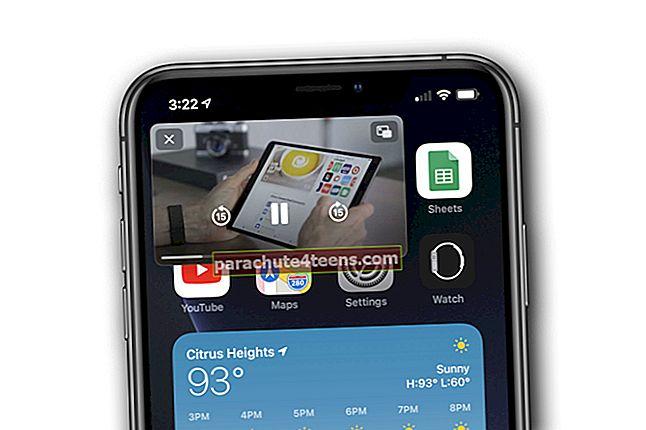 iOS 14: Kuidas kasutada YouTube'i pilti pildirežiimis iPhone'is
