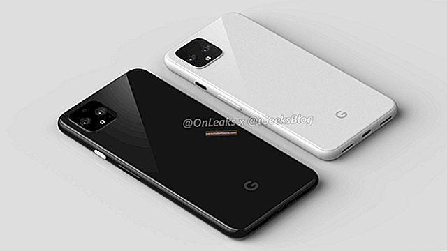 Google Pixel 4 lekib: eksklusiivsed 360 renderdust