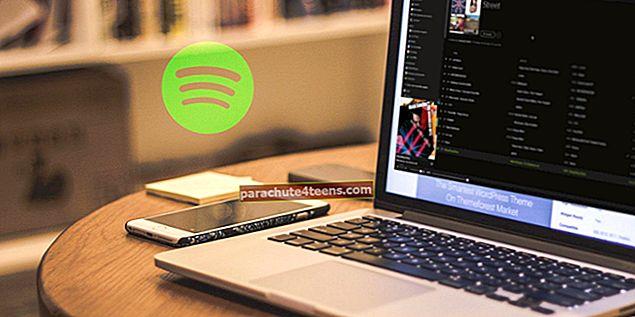 Spotify klaviatuuri otseteed Macile ja arvutile