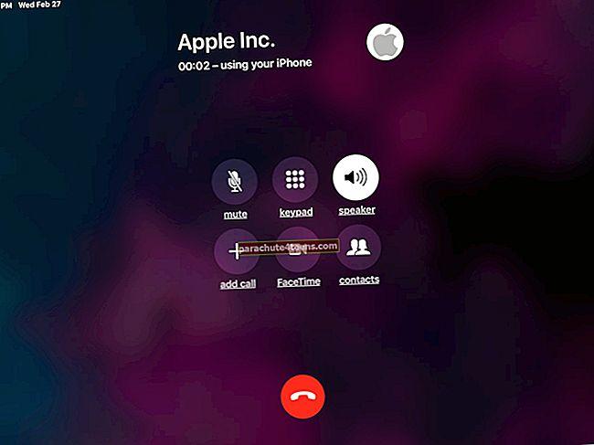 """Kaip skambinti ir gauti telefono skambutį """"Mac"""" ir """"iPad"""""""