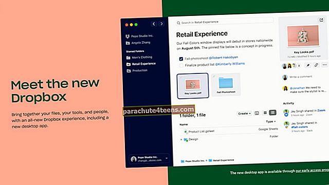 Kuidas jagada kaustu ja mitu fotot rakenduses Dropbox iPhone / iPad
