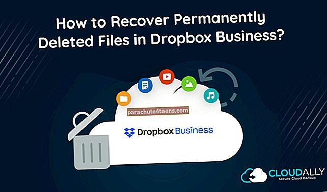 Kuinka palauttaa poistetut tiedostot tai kansio Dropboxissa