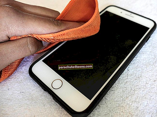 IPhonen puhdistaminen ja desinfiointi
