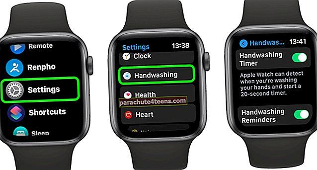 """Kaip naudoti """"AirPlay"""" """"Apple Watch"""", kuriame veikia """"watchOS 7"""""""