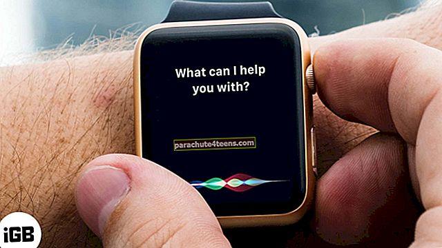 Pikakorjaukset: Siri ei toimi Apple Watchissa?