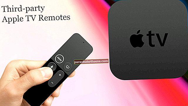 Điều khiển từ xa Apple TV của bên thứ ba tốt nhất năm 2021