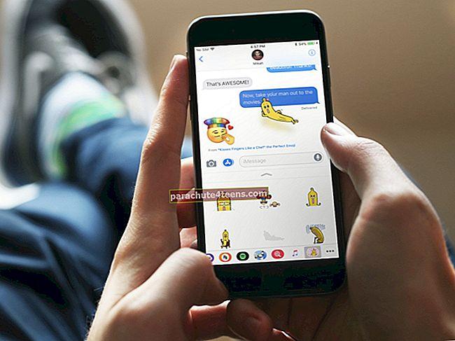 Tarrojen poistaminen iMessagesista iPhonessa ja iPadissa