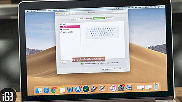 Kuidas muuta Maci klaviatuuripaigutust
