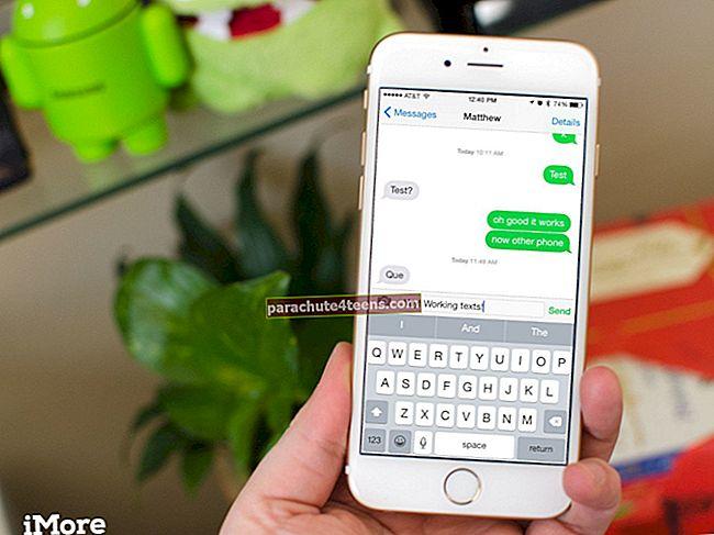 Kuinka lähettää tekstiviesti iMessagen sijaan iPhonessa