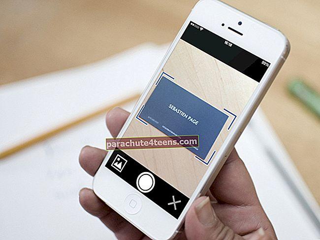 Parhaat iPhone-käyntikortinlukijat ja -skannerit vuonna 2021