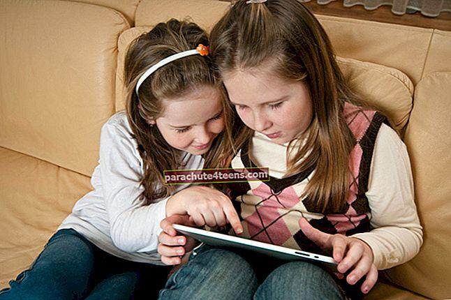 Parimad iPhone'i harivad mängud väikelastele aastal 2021