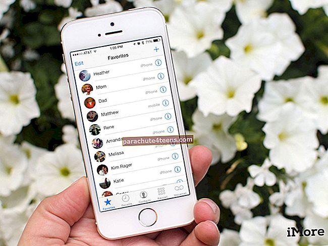 Fotode määramine iPhone'i kontaktidele