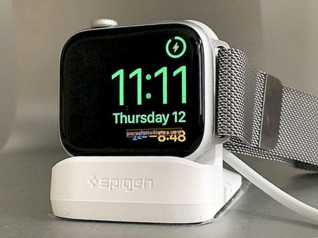 Yöpöytätilan käyttäminen Apple Watchissa