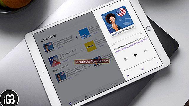 Podcastien tallentaminen ja lähettäminen iPadissa
