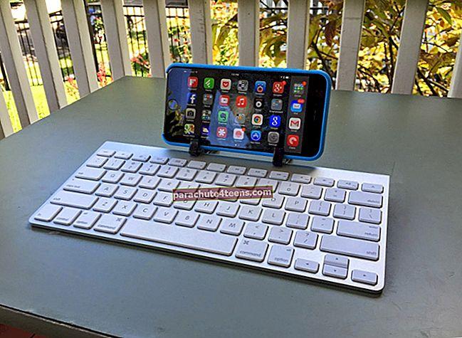 Magic-näppäimistön liittäminen Maciin, iPhoneen ja iPadiin