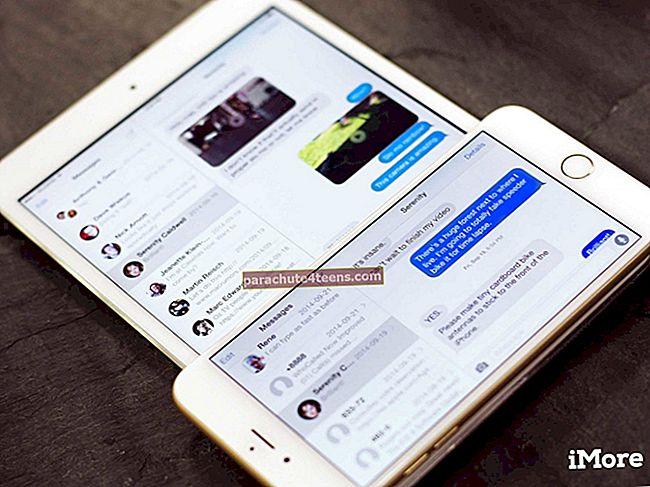 IMessage'i ekraaniefektide keelamine iPhone'is ja iPadis