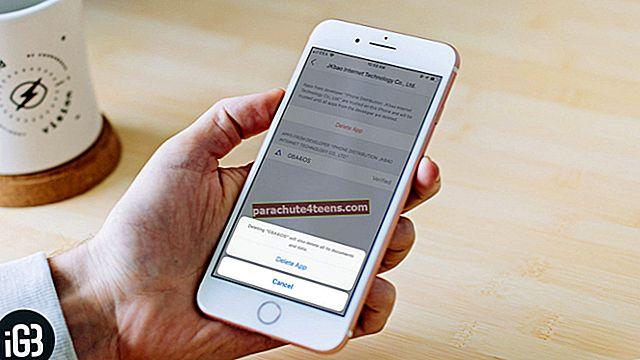 Juursertifikaatide eemaldamine iPhone'ist või iPadist