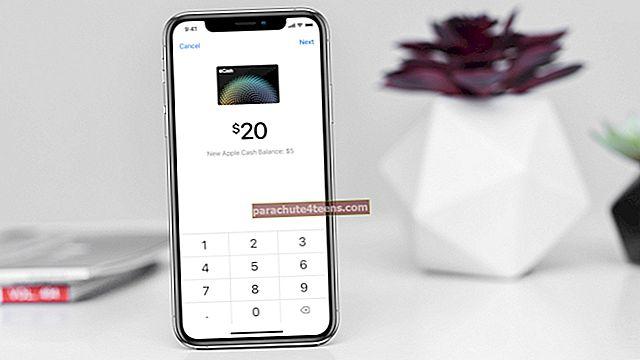 Kuidas kanda Apple Cash pangakontole või deebetkaardile