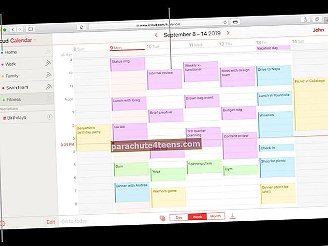 """Kaip ištrinti """"iCloud"""" kalendoriaus šlamšto kvietimus neįspėjus šlamšto siuntėjų"""