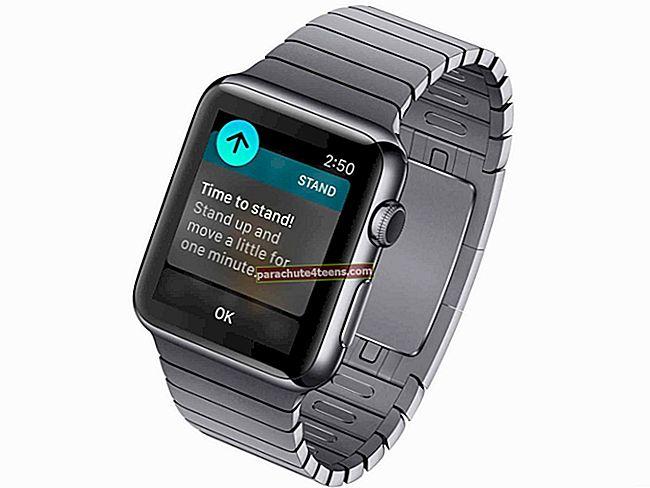 Cách tắt thông báo của Apple Watch