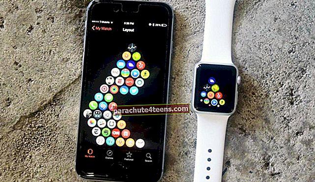 Kuidas muuta rakenduse paigutust oma Apple Watchis