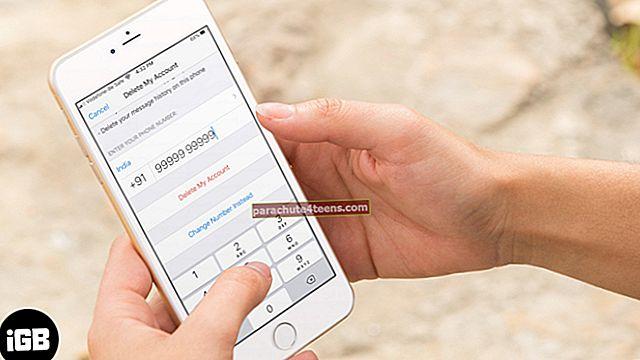 Kuidas WhatsAppi kontot iPhone'ist jäädavalt kustutada