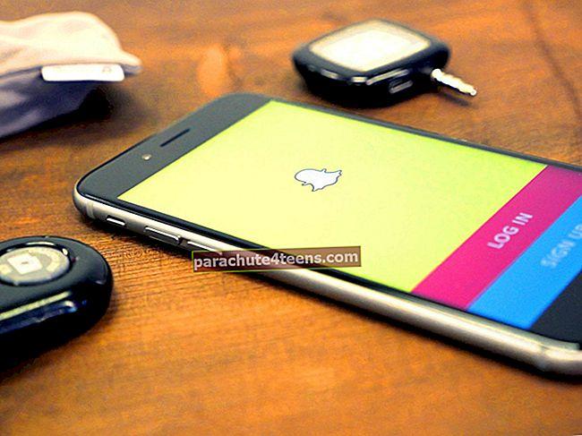 Kuinka tallentaa mobiilidataa Snapchatin avulla iPhonessa ja iPadissa