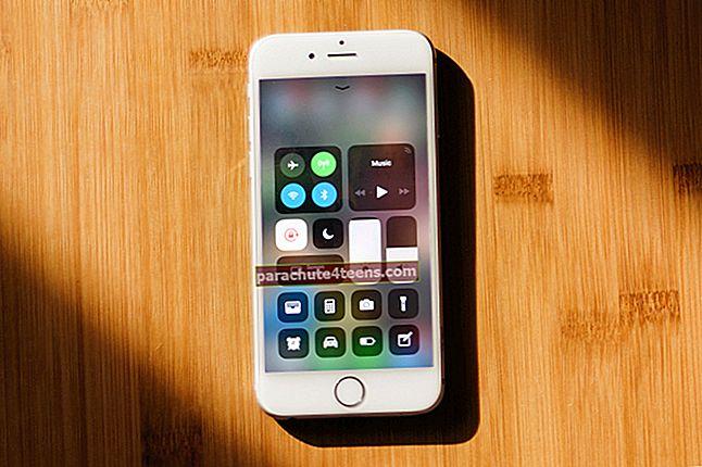 Kuinka vähentää valkoista pistettä iOS 10: ssä iPhonessa tai iPadissa
