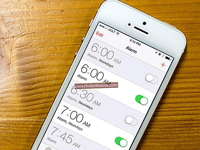 Kuinka asettaa Apple Music -kappale hälytykseksi iPhonessa