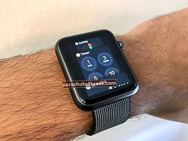 Kuinka käyttää Apple Watchia iPhone-kameran hallintaan