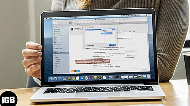 """Kaip pakeisti """"iPhone"""" atsarginės kopijos vietą """"Mac"""" ir """"Windows""""?"""
