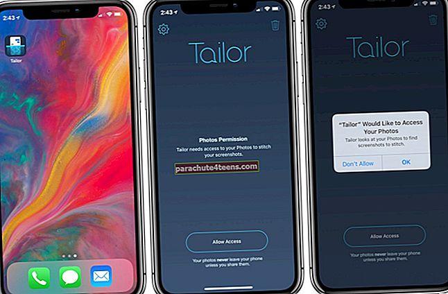 Kā apvienot vairākus ekrānuzņēmumus iPhone un iPad ierīcēs