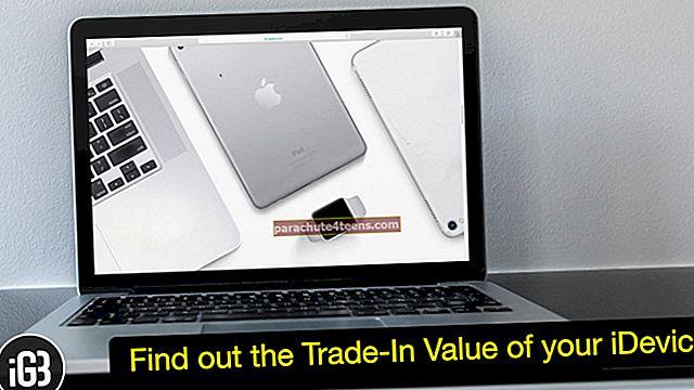 Kuinka tarkistaa iPhonen, iPadin, Apple Watchin ja Macin vaihtoarvo