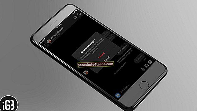 Kuinka lähettää Instagram-viesti iPhonessa ja Androidissa