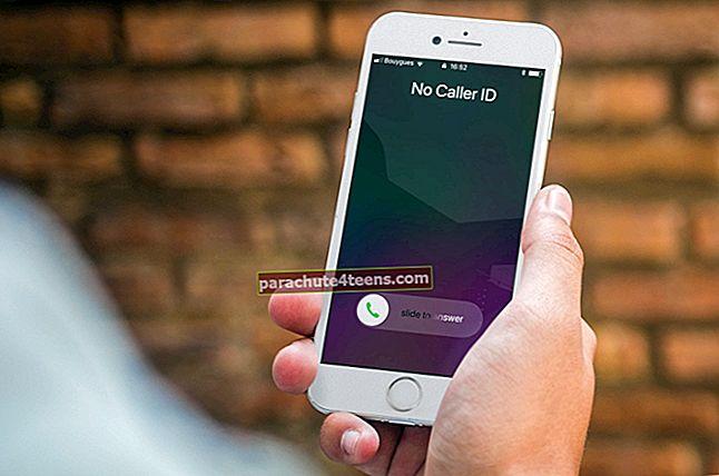 Kuinka piilottaa soittajan tunnus soittaessasi puhelua iPhonessa