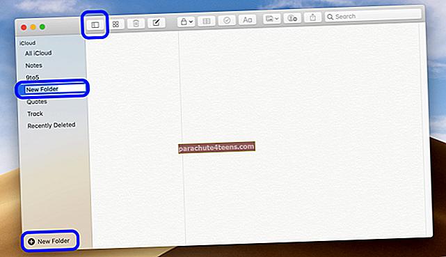 Notes-sovelluskansioiden jakaminen iPhonessa, iPadissa ja Macissa