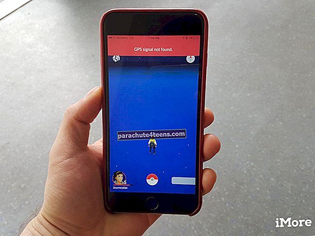 """""""GPS-signaalia ei löydy"""" Pokémon Go -sovelluksessa iPhonessa: Korjattavia vinkkejä"""