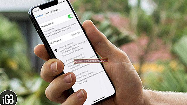 Puuttuu henkilökohtainen hotspot iPhonessa tai iPadissa? Kuinka korjata se!