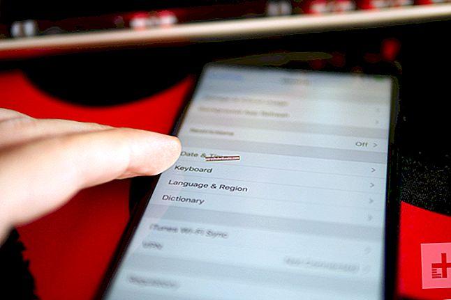 Automaattisen korjauksen poistaminen käytöstä iPhonessa ja iPadissa
